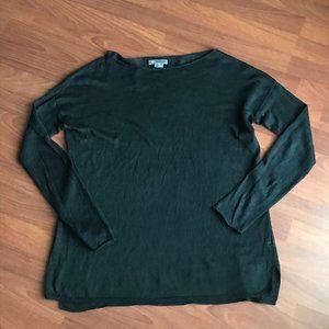 Vince Linen Black Sweater